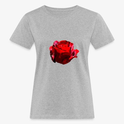 Red Rose - Frauen Bio-T-Shirt