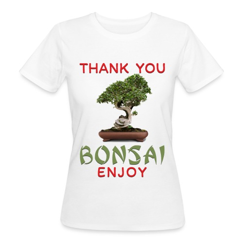 Dziękuję Ci Bonsai - Ekologiczna koszulka damska