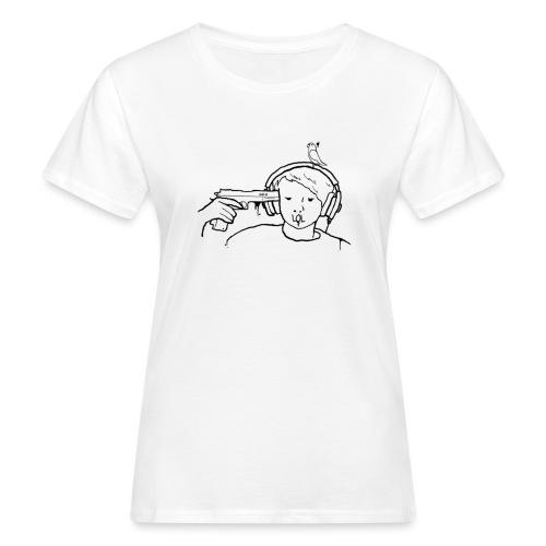 kys valkoinen - Naisten luonnonmukainen t-paita