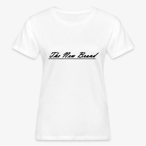 The New Brand logo black on white - Vrouwen Bio-T-shirt