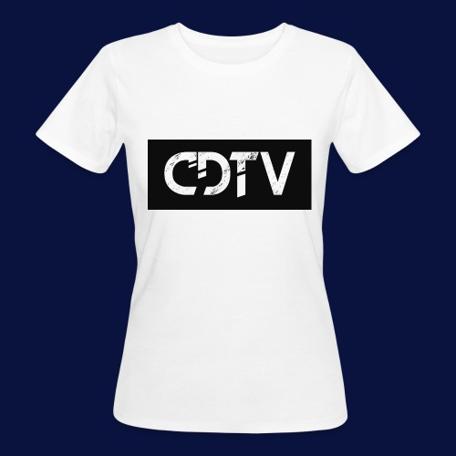 CDTV Box Logo - Women's Organic T-Shirt