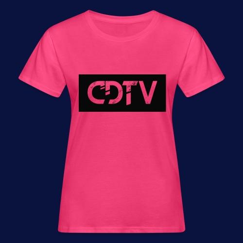 CDTV Box Logo - Women's Organic T-Shirt