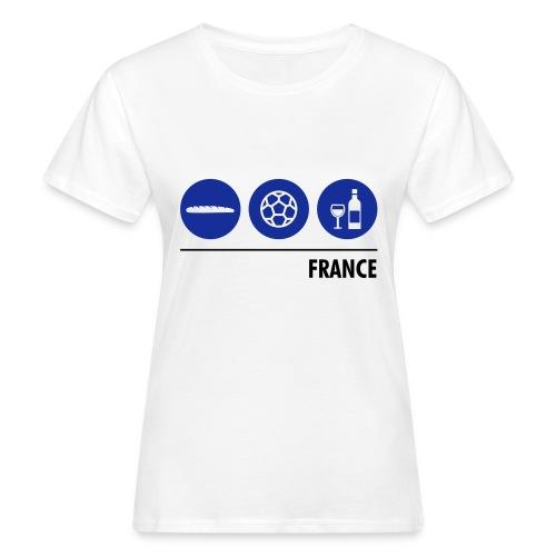 Circles - France - Women's Organic T-shirt