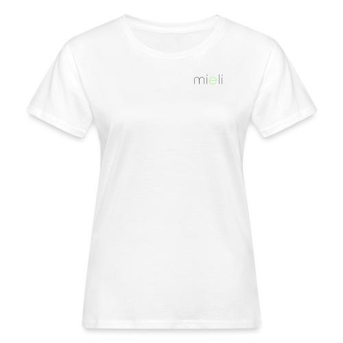 mieli logo dark alternative - Frauen Bio-T-Shirt