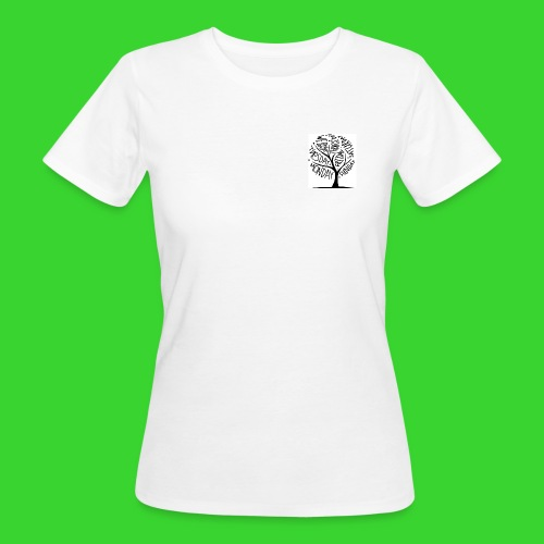 8391214 art tree design w - Women's Organic T-Shirt