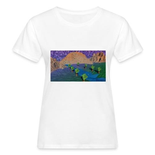 Silent river - Women's Organic T-Shirt