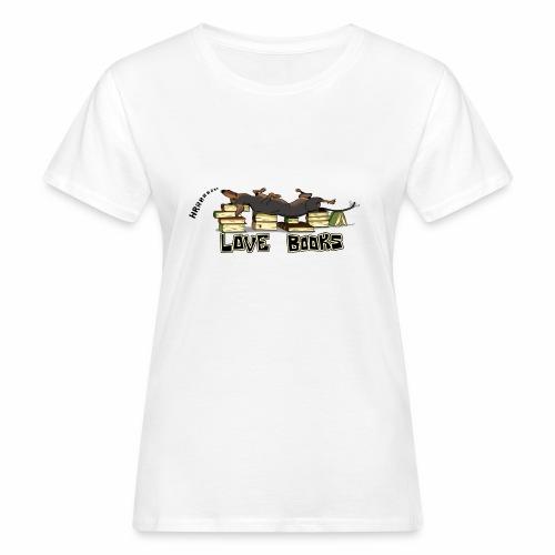 Love books - Ekologiczna koszulka damska