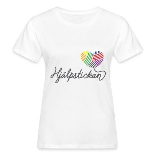 hjalpstickan logopride 1200 - Ekologisk T-shirt dam