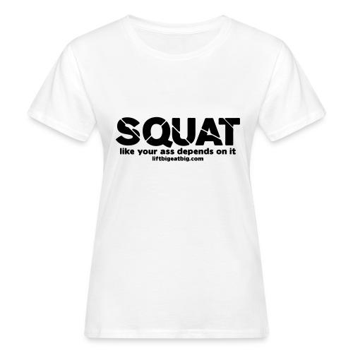 squat - Women's Organic T-Shirt