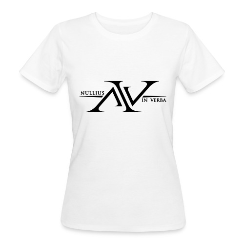 Nullius In Verba Logo - Women's Organic T-Shirt