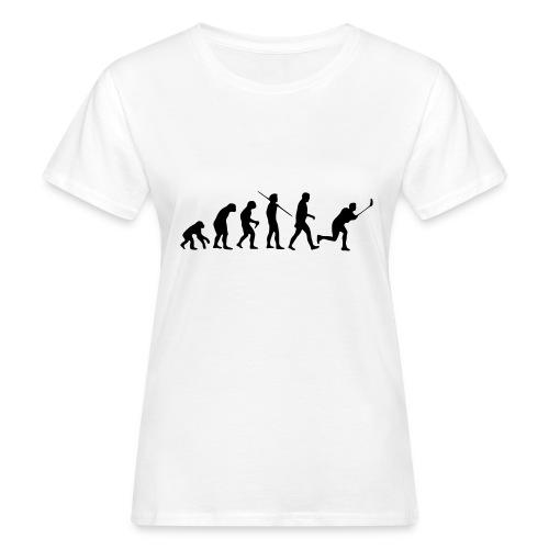 Floorball Evolution Black - Frauen Bio-T-Shirt