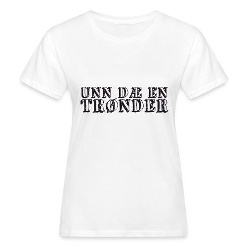 unndae - Økologisk T-skjorte for kvinner
