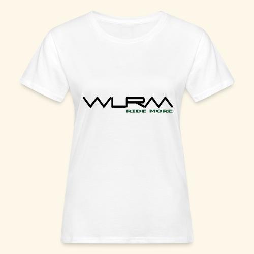 WLRM Schriftzug black png - Frauen Bio-T-Shirt