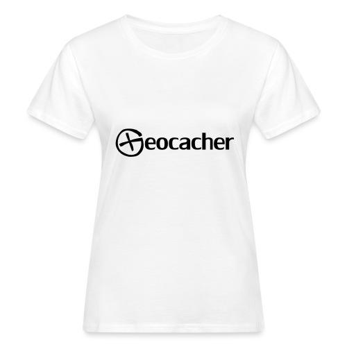 Geocacher - Naisten luonnonmukainen t-paita