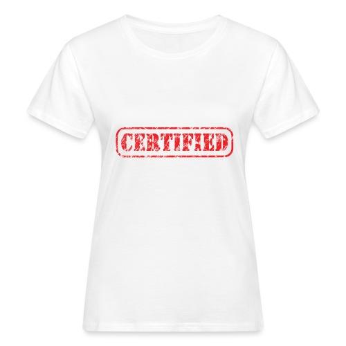 Certified - Vrouwen Bio-T-shirt