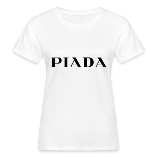 PIADA - T-shirt ecologica da donna