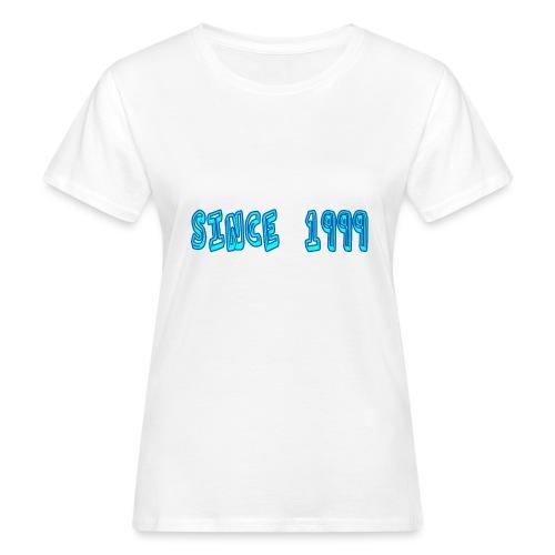Since 1999 - Naisten luonnonmukainen t-paita