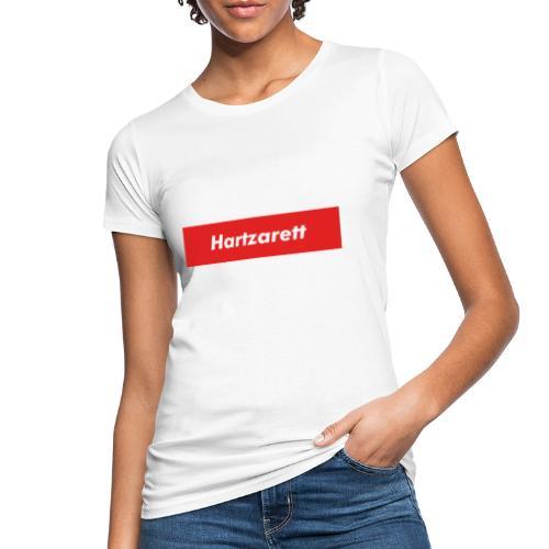 Hartzarett Boxed Logo - Frauen Bio-T-Shirt