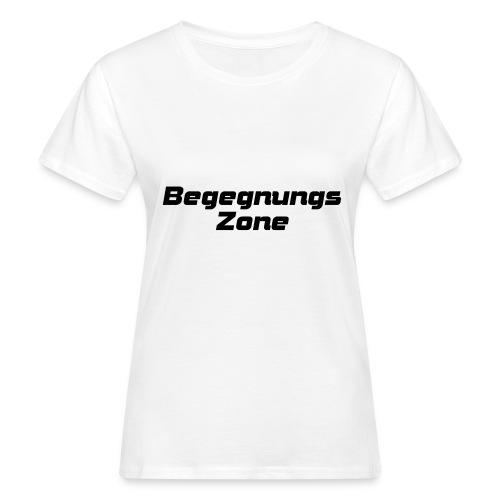 Begegnungszone - Frauen Bio-T-Shirt