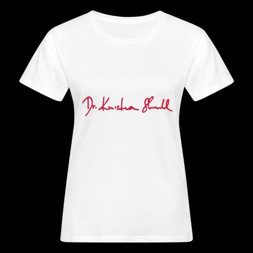 stuhl signatur - Frauen Bio-T-Shirt