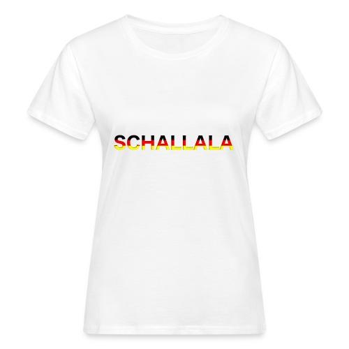 Schallala - Frauen Bio-T-Shirt