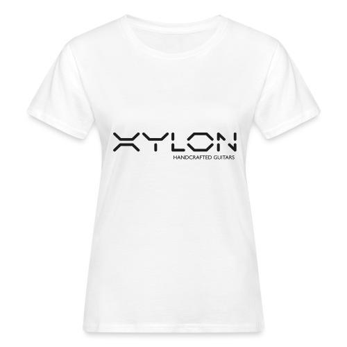 Xylon Handcrafted Guitars (plain logo in black) - Women's Organic T-Shirt