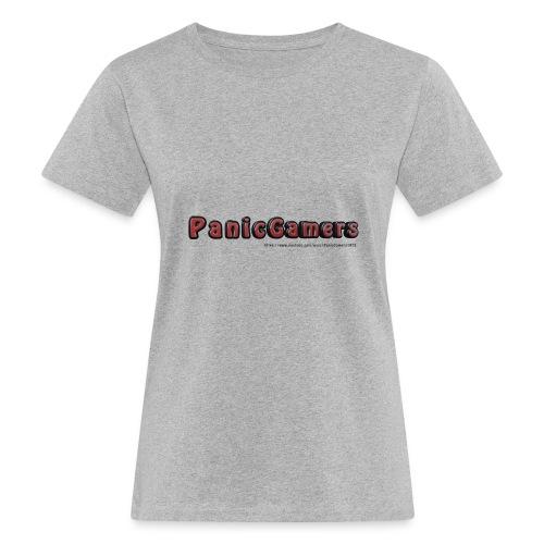 Cover PanicGamers - T-shirt ecologica da donna