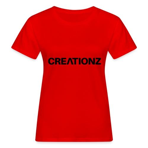 WOORDMERK PUNT NL ZWART - Vrouwen Bio-T-shirt