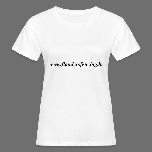 wwww.flandersfencing.be - Vrouwen Bio-T-shirt