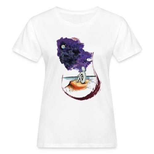 Extraterrestre en contemplation - T-shirt bio Femme