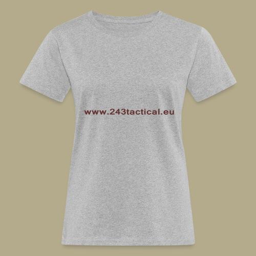 .243 Tactical Website - Vrouwen Bio-T-shirt