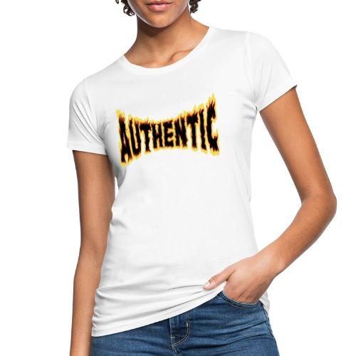 authentic on fire - Camiseta ecológica mujer
