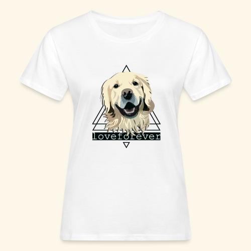 RETRIEVER LOVE FOREVER - Camiseta ecológica mujer