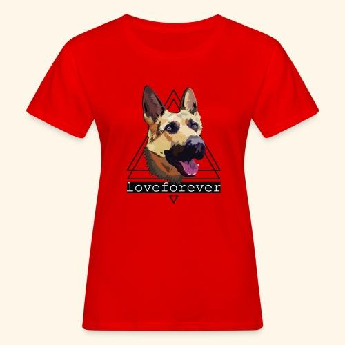 SHEPHERD LOVE FOREVER - Camiseta ecológica mujer
