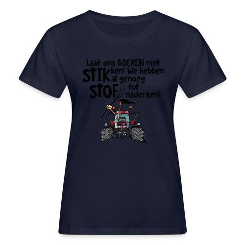 0505 stikstof - Vrouwen Bio-T-shirt