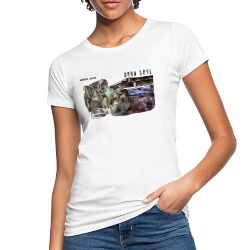 gas mask 2 black - Frauen Bio-T-Shirt