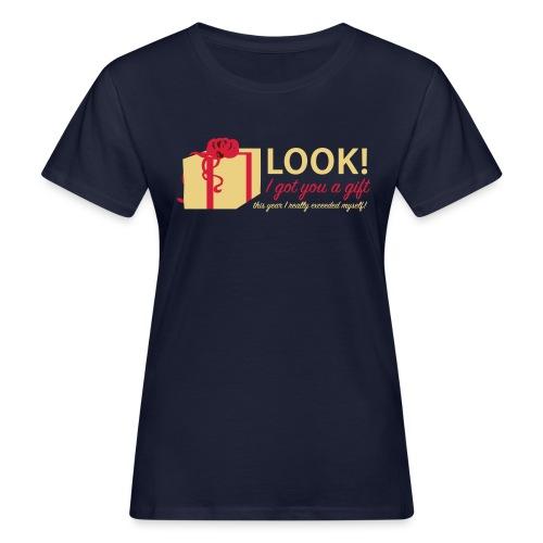 Täydellinen lahja - Naisten luonnonmukainen t-paita