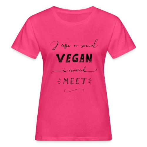 Social Vegan - Frauen Bio-T-Shirt