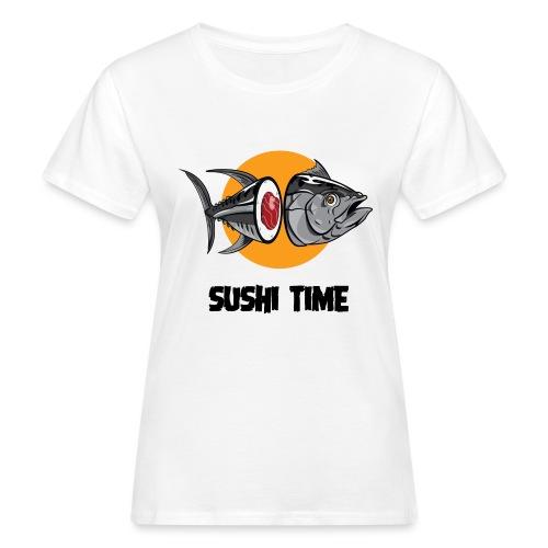 SUSHI TIME-tonno-n - T-shirt ecologica da donna