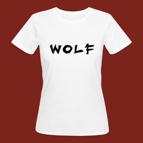 Wolf Font png - Vrouwen Bio-T-shirt
