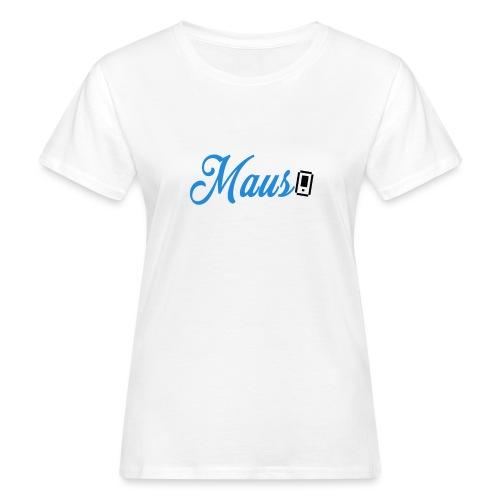 Hoesje MAUS 8Bit Blauw - Vrouwen Bio-T-shirt