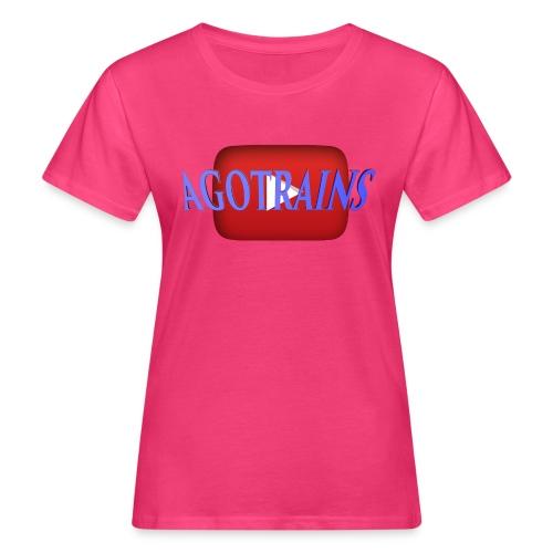 AGOTRAINS - T-shirt ecologica da donna