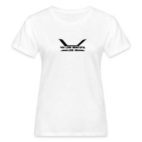 Napido You look beatiful like me - Naisten luonnonmukainen t-paita