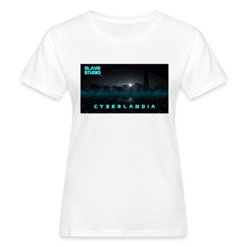 Cyberlandia - T-shirt ecologica da donna