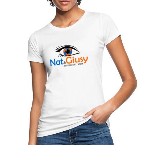 Nat e Giusy - T-shirt ecologica da donna