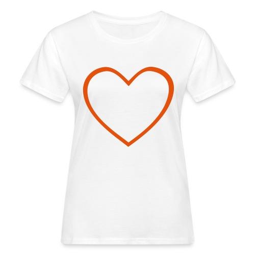 Hjärta 4 - Ekologisk T-shirt dam