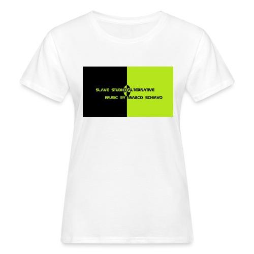 Channel_Art_Template_ufo_youtube_pt_4 - T-shirt ecologica da donna