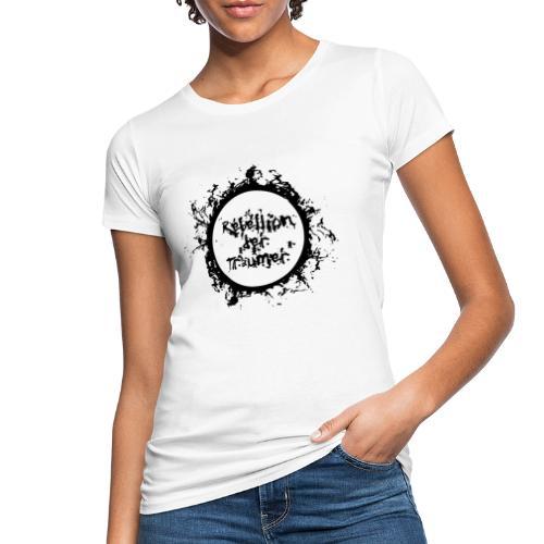 Rebellion der Träumer Logo schwarz - Frauen Bio-T-Shirt
