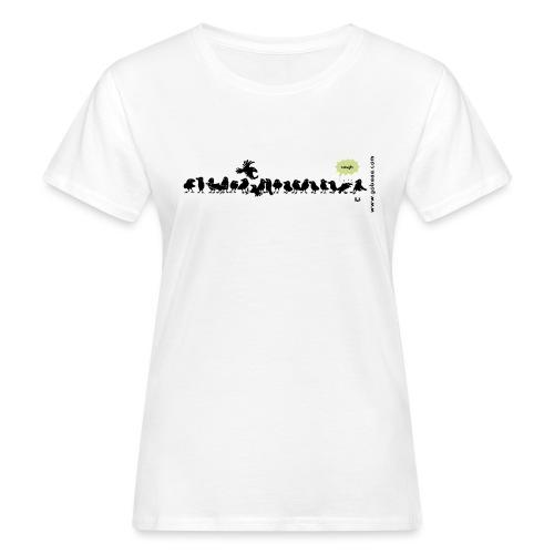 Corvids - es ist eine Menge! - Frauen Bio-T-Shirt
