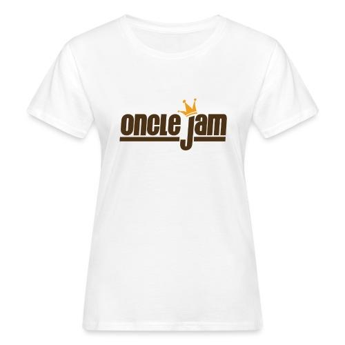Oncle Jam horizontal brun - T-shirt bio Femme